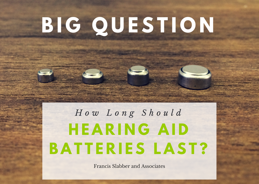 How Long Should Hearing Aid Batteries Last?