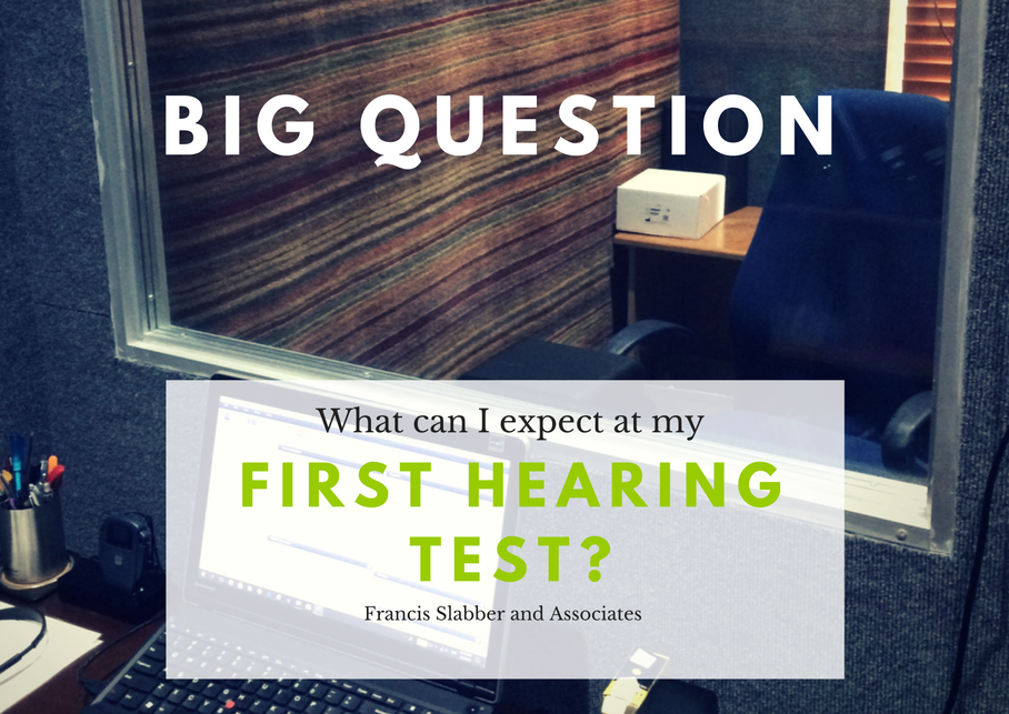 What can I expect at my first hearing test?
