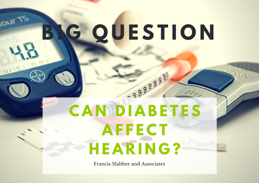 Can Diabetes Affect Hearing?
