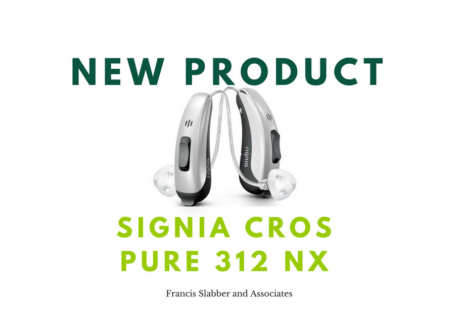 New Product: Signia CROS Pure 312 Nx