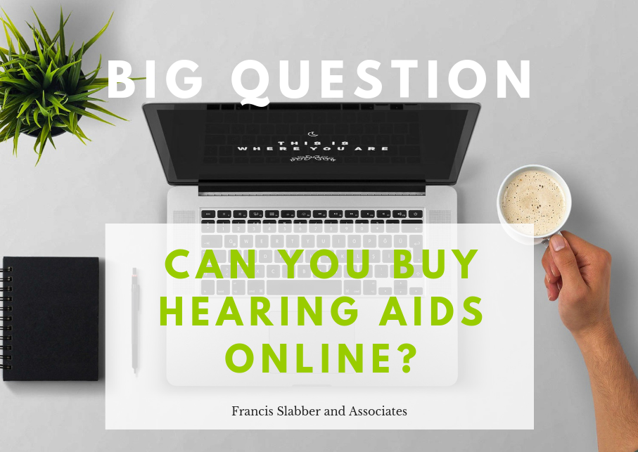Can you buy hearing aids online?
