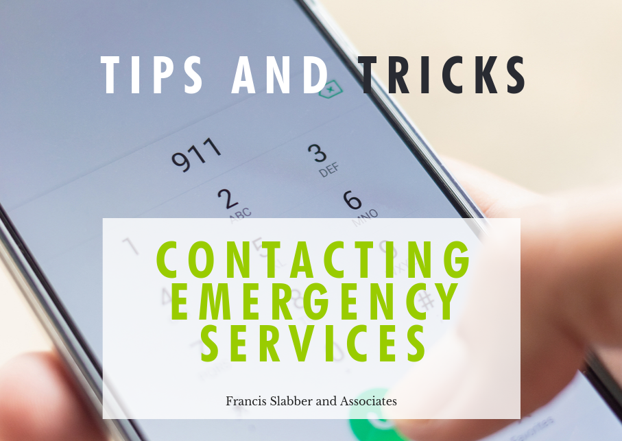 Contacting Emergency Services