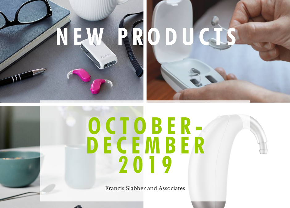 New Products: October to December 2019