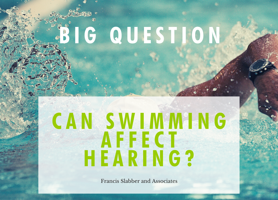 Can swimming affect hearing?