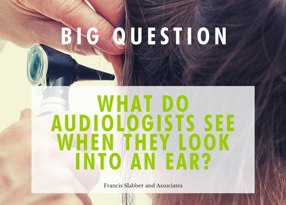 What do Audiologists See When They Look Into an Ear?