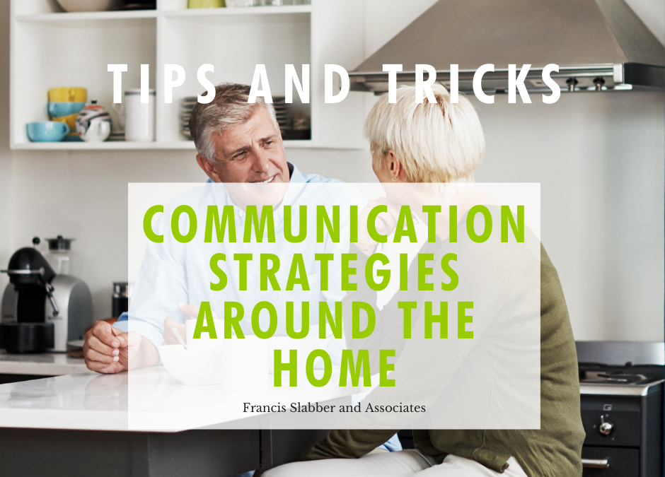 Communication Strategies Around The Home