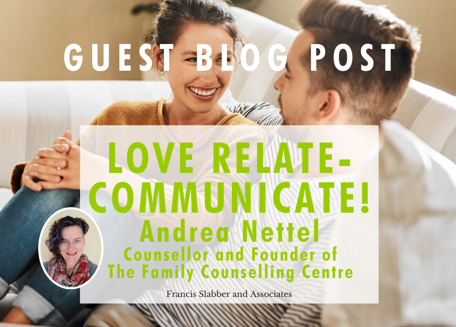 Blog Love Relate- Communicate!