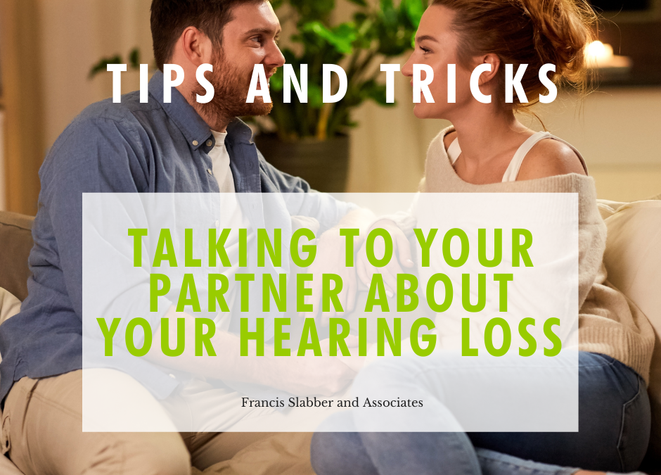 Talking to your Partner about your Hearing Loss
